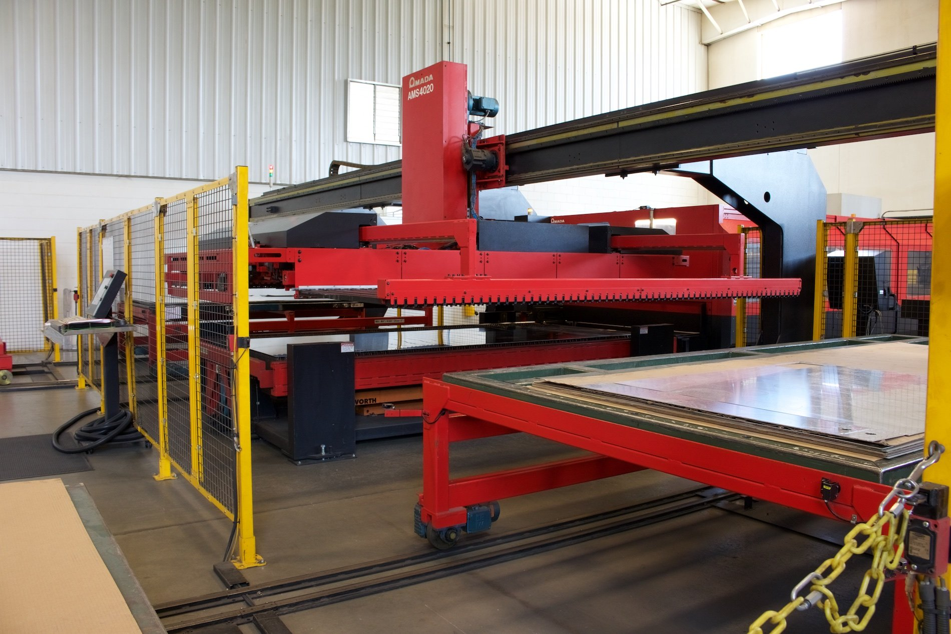 Badger Sheet Metal Works Specializes in Aluminum Sheet Metal Fabrication