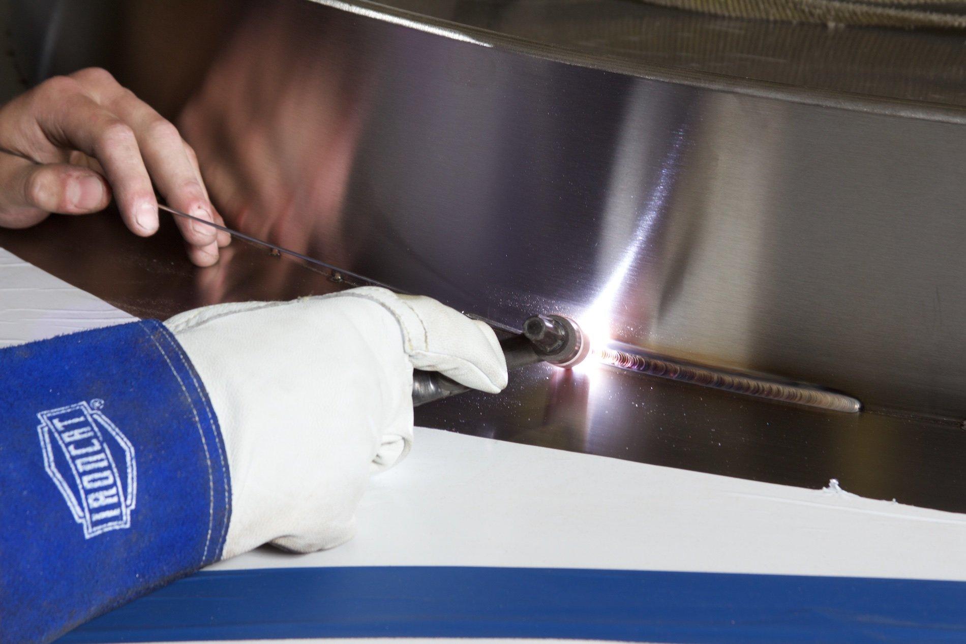 stainless steel fabrication at Badger Sheet Metal Works