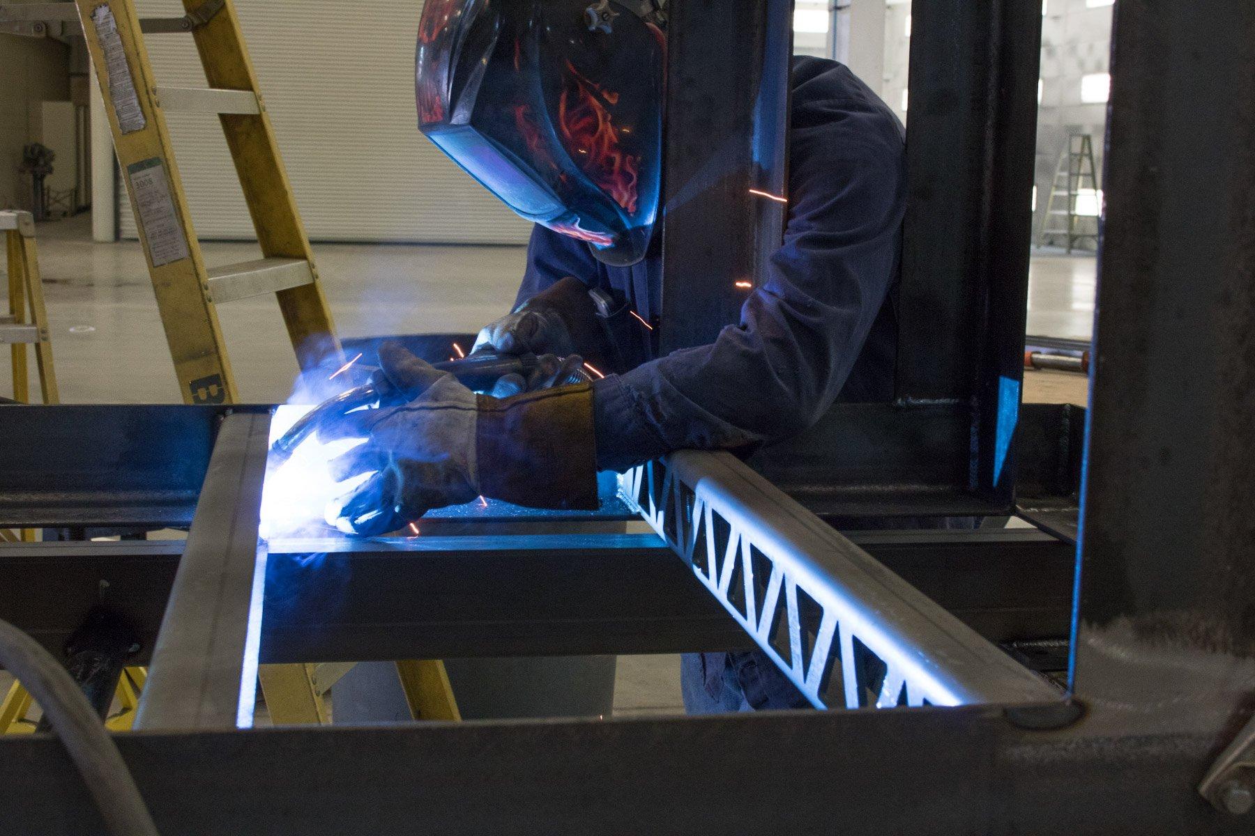 fabricated steel, custom parts Badger Sheet Metal Works