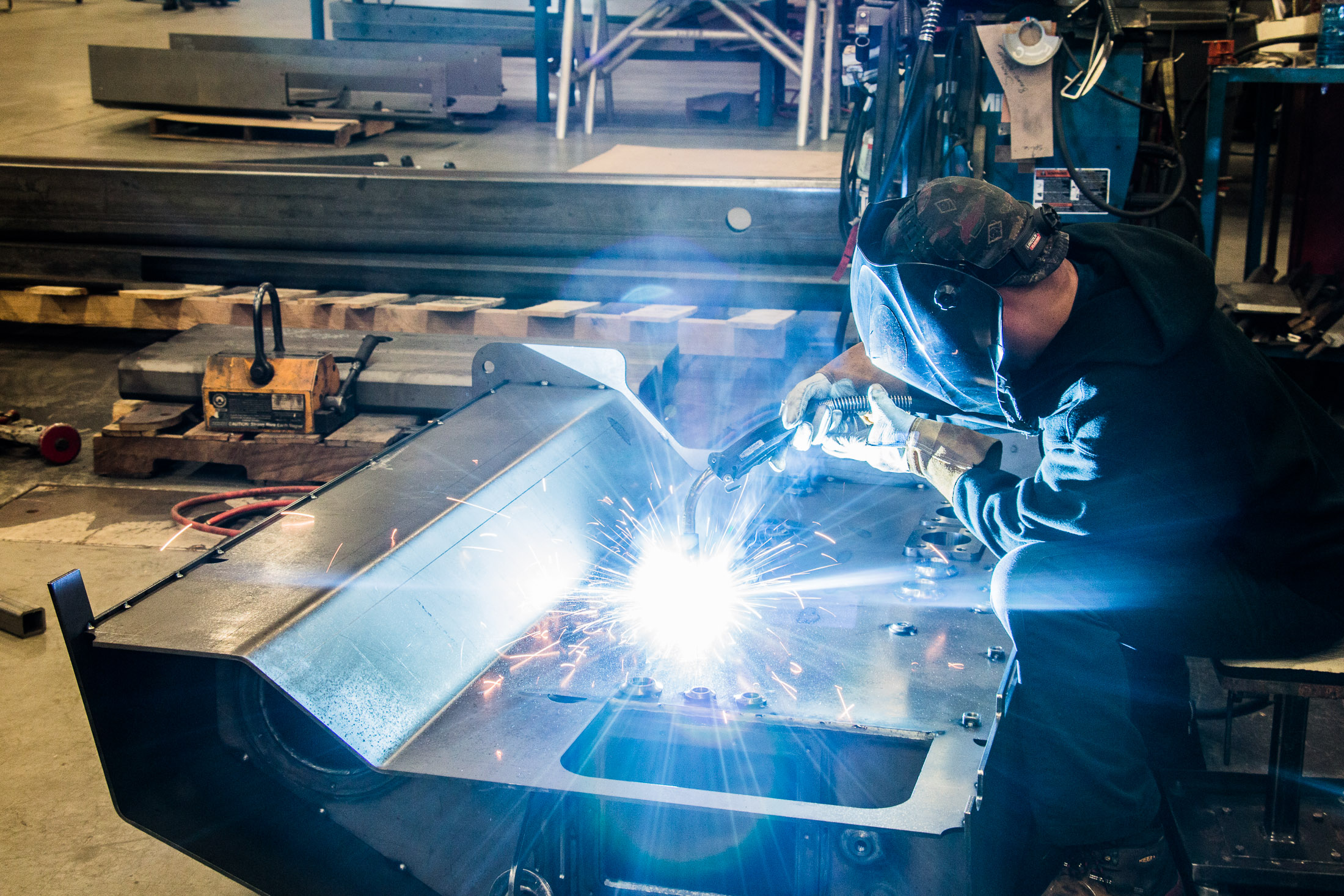 custom fabrication, precision sheet metal fabrication at Badger Sheet Metal Works