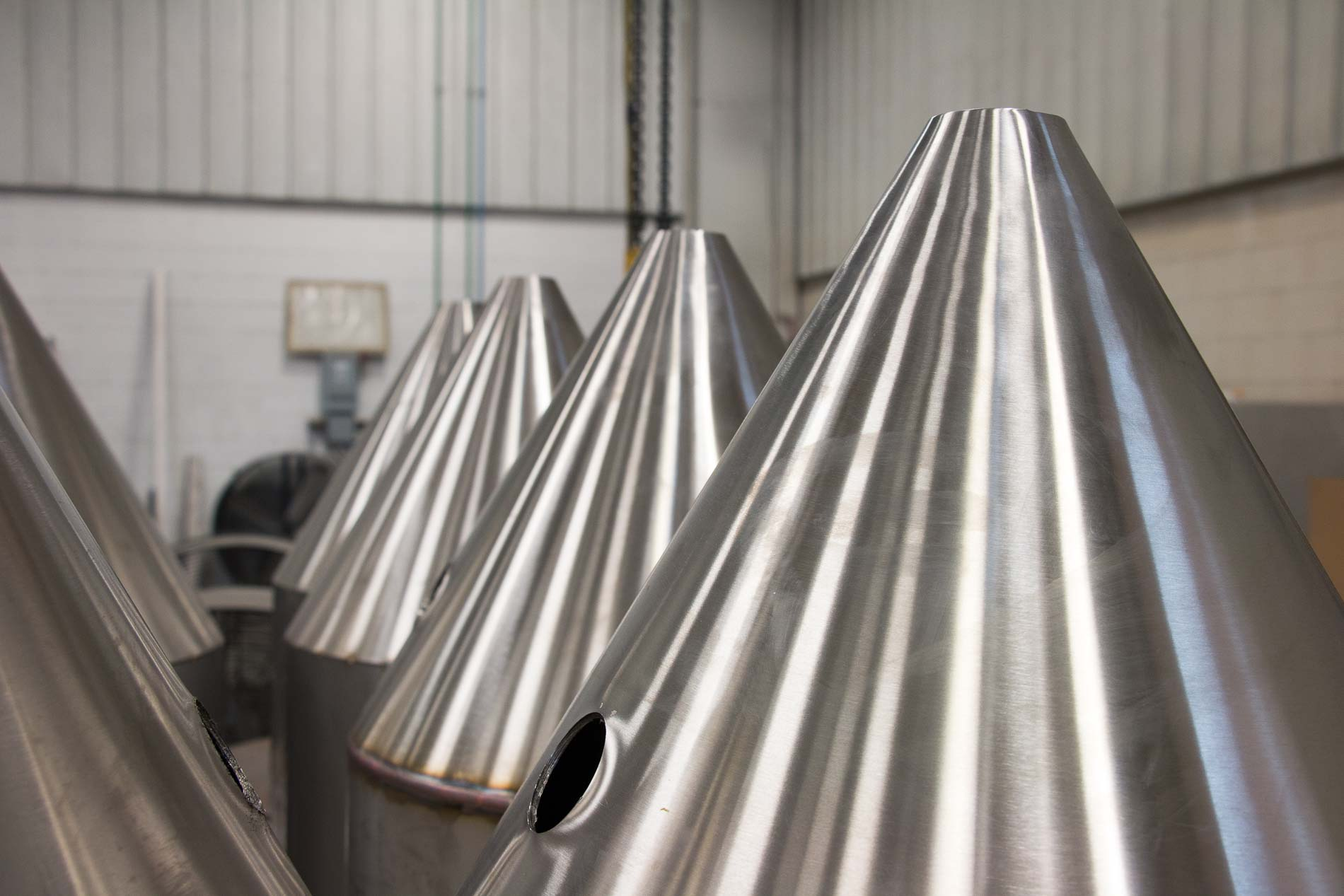 Dairy Industry Fabrication is a Badger Sheet Metal Works Specialty