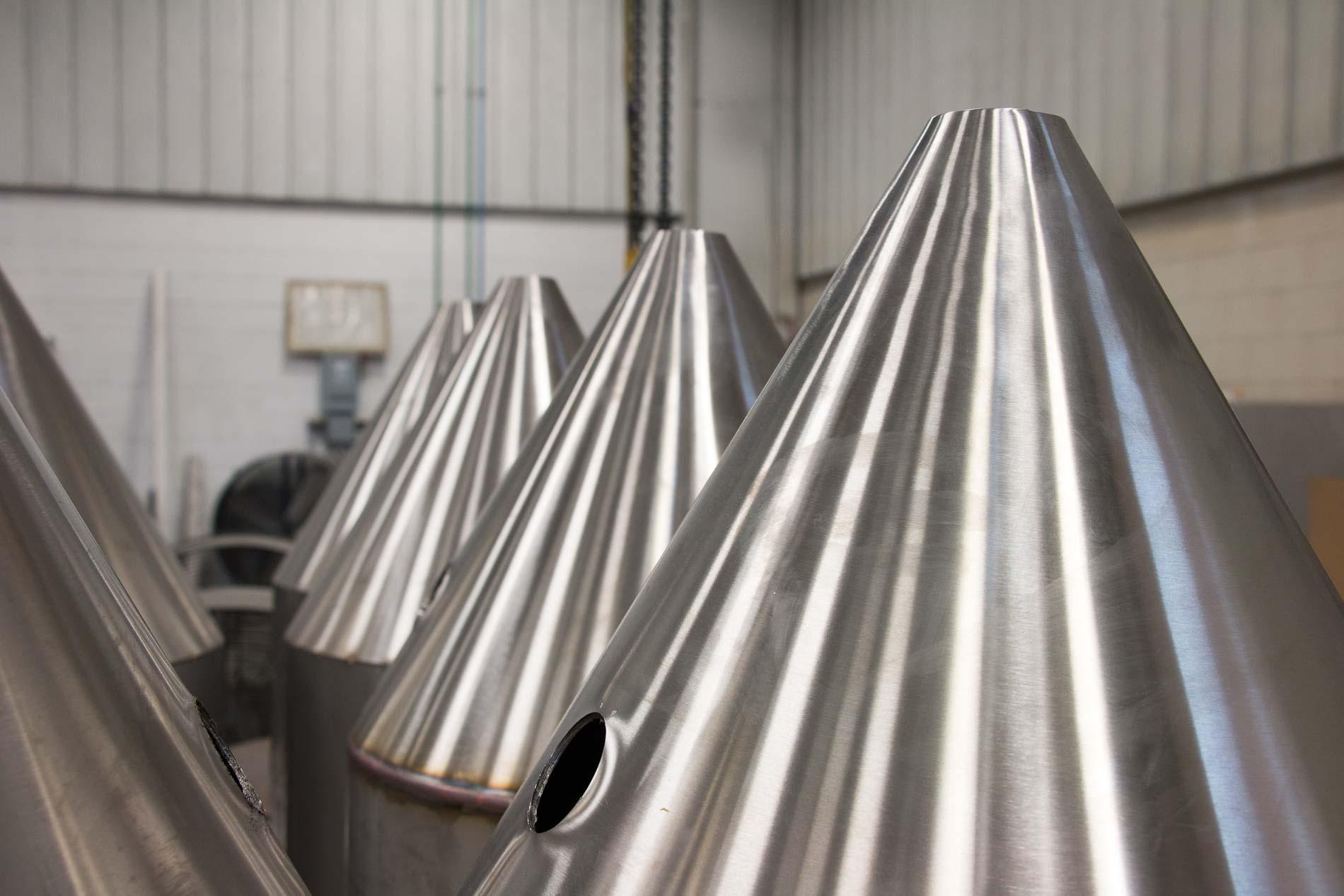 custom sheet metal fabrication, dairy industry fabrication