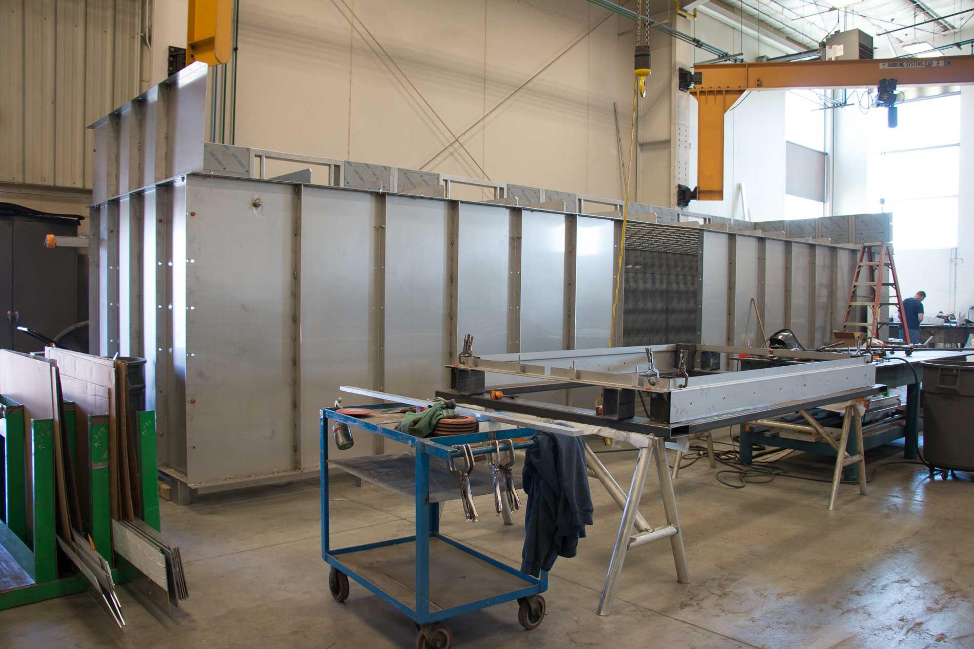 Metal fabrication from Badger Sheet Metal Works