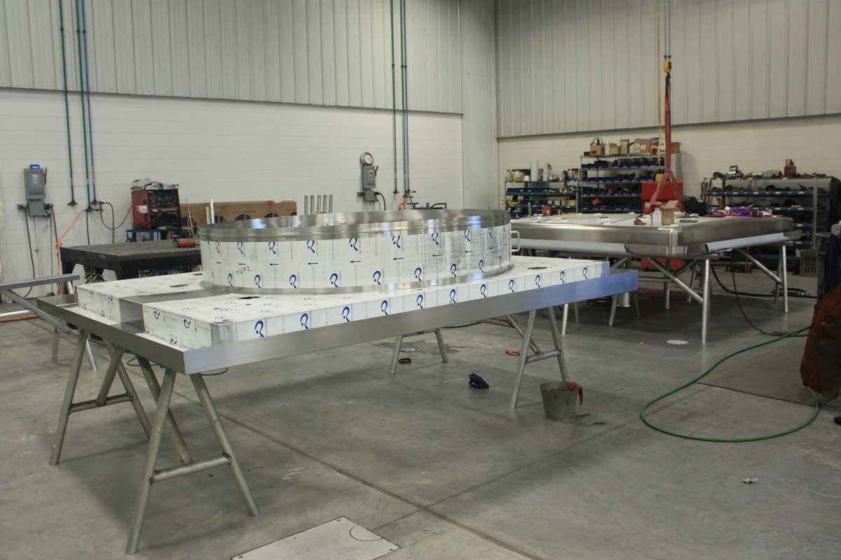 bottling equipment fabrication
