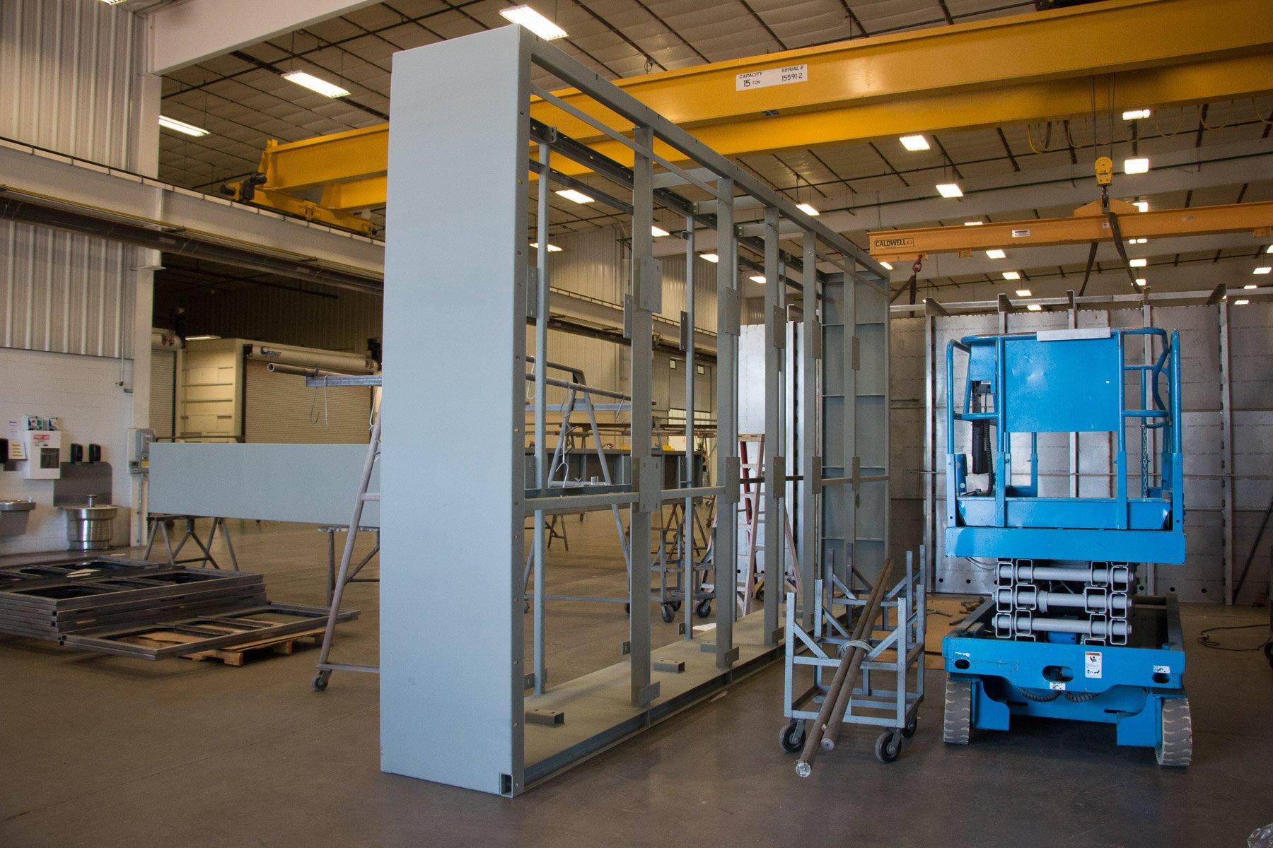 Badger Sheet Metal Works pump bases
