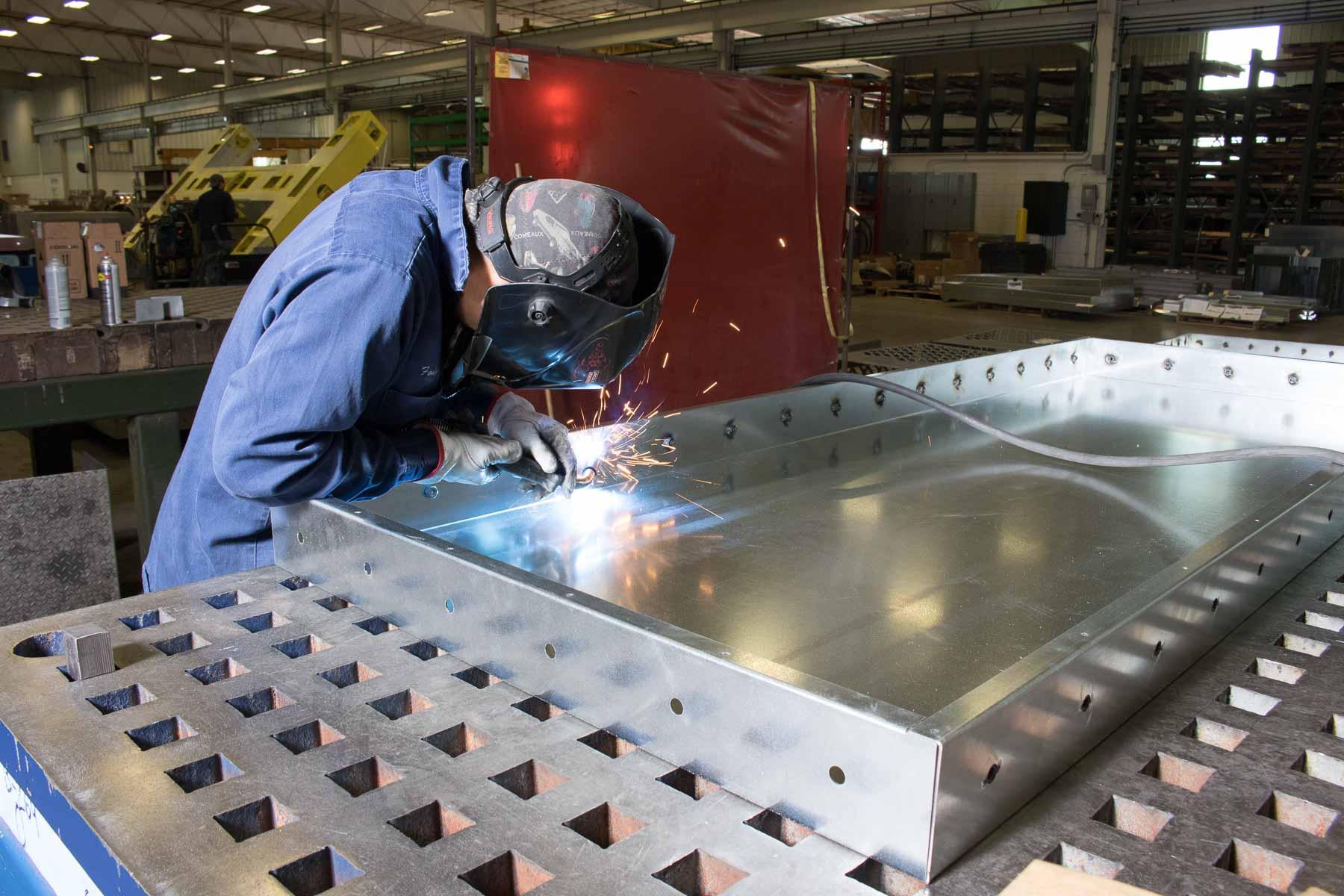 Badger Sheet Metal Works - steel fabrication shop