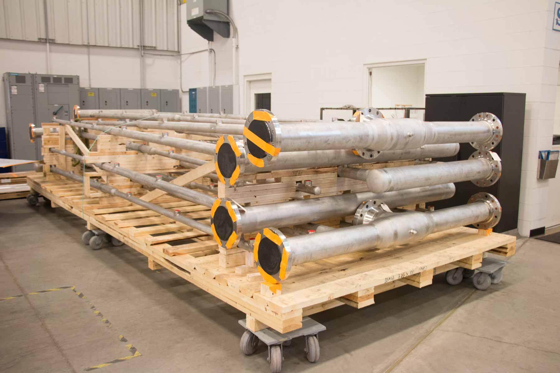 Badger process piping fabrication