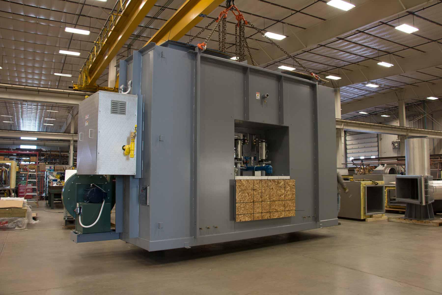 Badger Sheet Metal Works general machine assembly