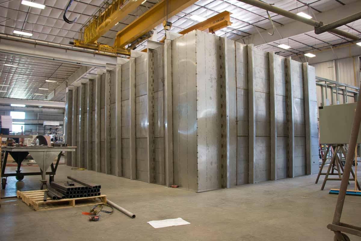 Badger Sheet Metal Works 2205 stainless steel fabrication