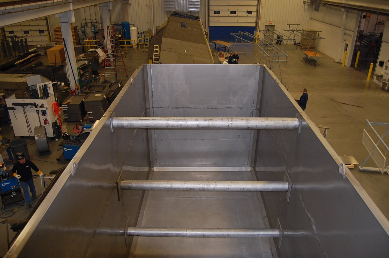 Badger Sheet Metal Works custom tank fabrication