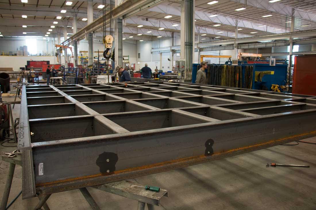 Custom Enclosure Bases Provide Foundation for Steel Enclosures