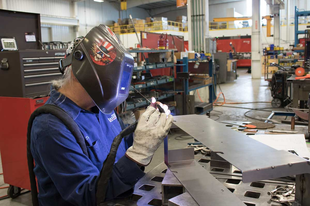 Badger Sheet Metal Works fabrication and welding