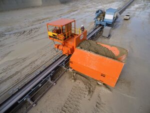 Material handling fabrication ranges from cleanliness to powerful