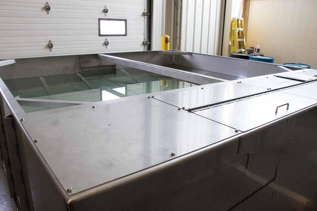 BSMW custom water treatment tanks