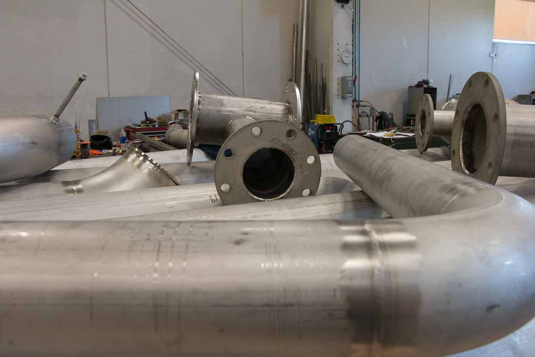 Process piping fabrication requires meeting exact specifications