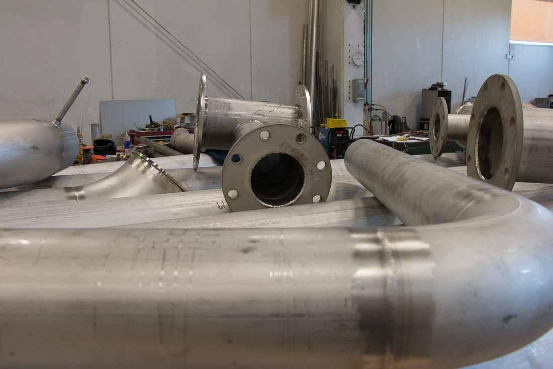 BSMW process piping fabrication
