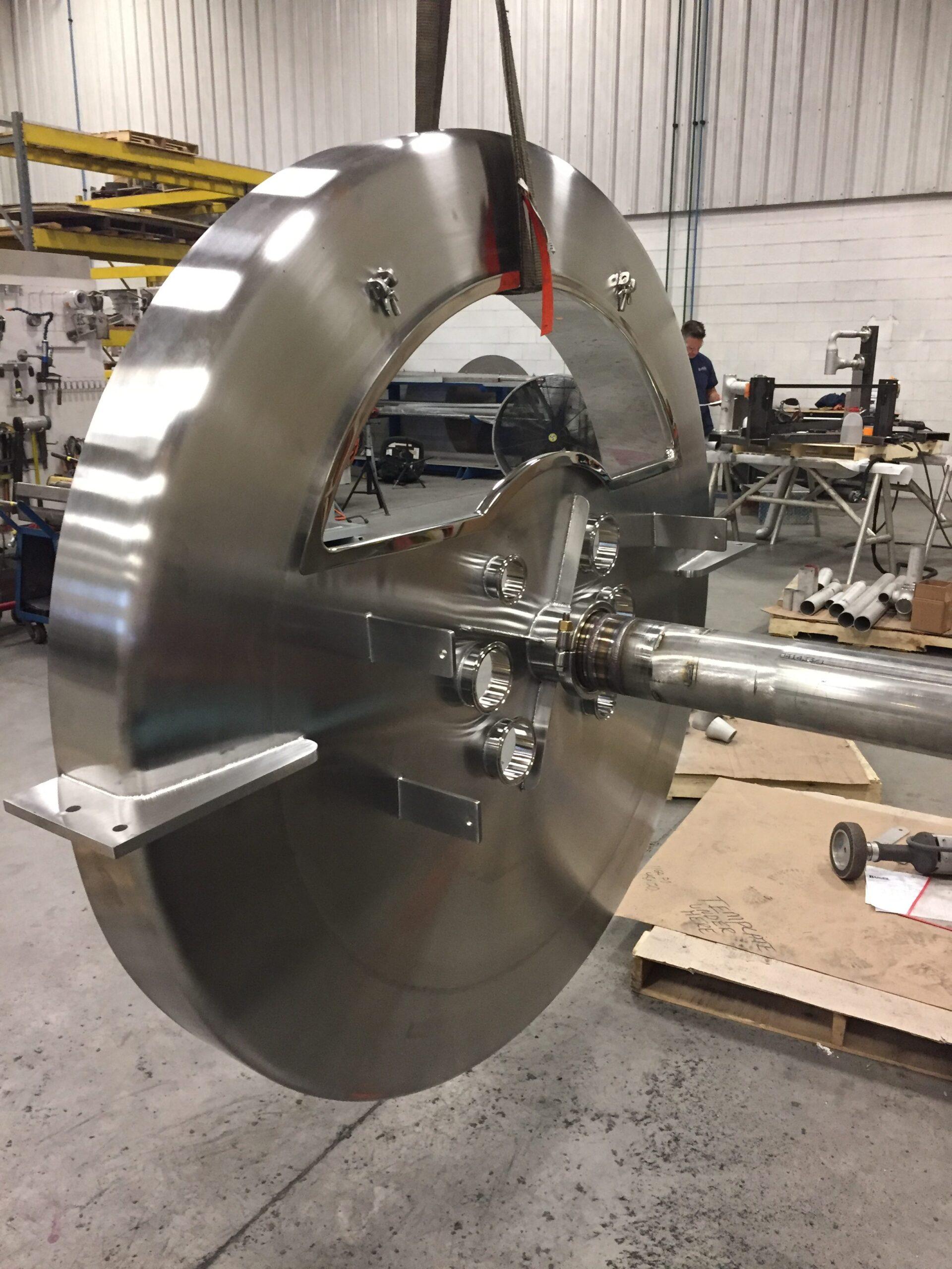 material handling equipment fabrication