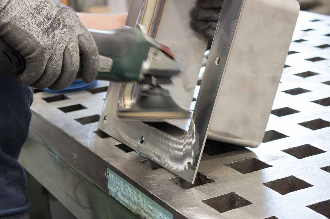 Cleanliness marks quality dust collection equipment fabrication