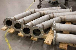 Process pipe fabrication requires imaginative route planning