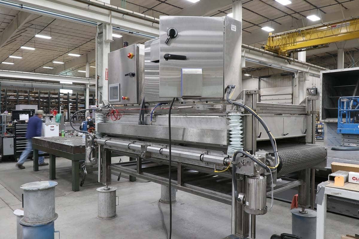 stainless steel equipment fabrication