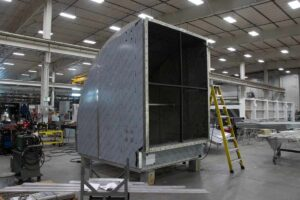 Heavy ductwork fabrication can feature multi-layered construction