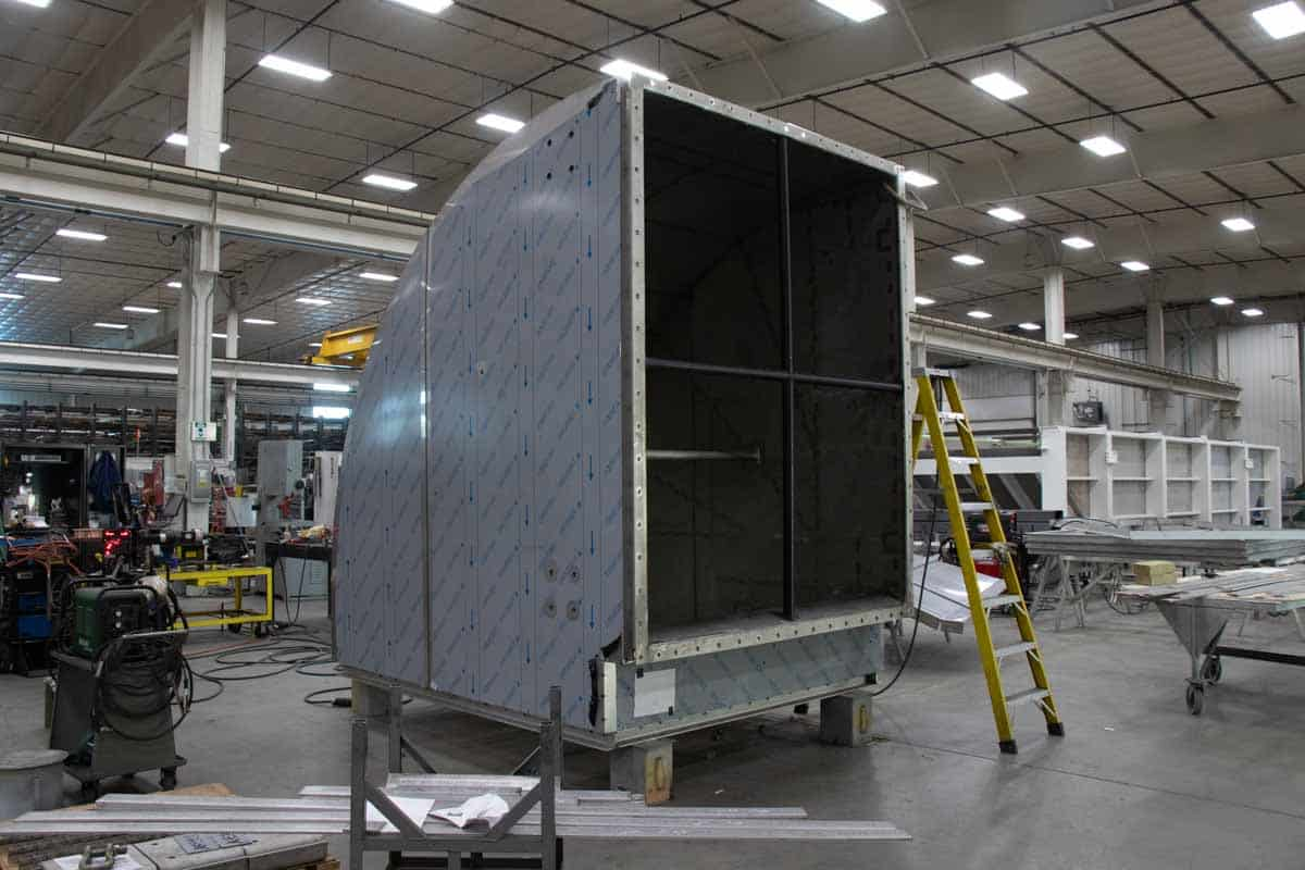 Badger Sheet Metal Works heavy ductwork fabrication
