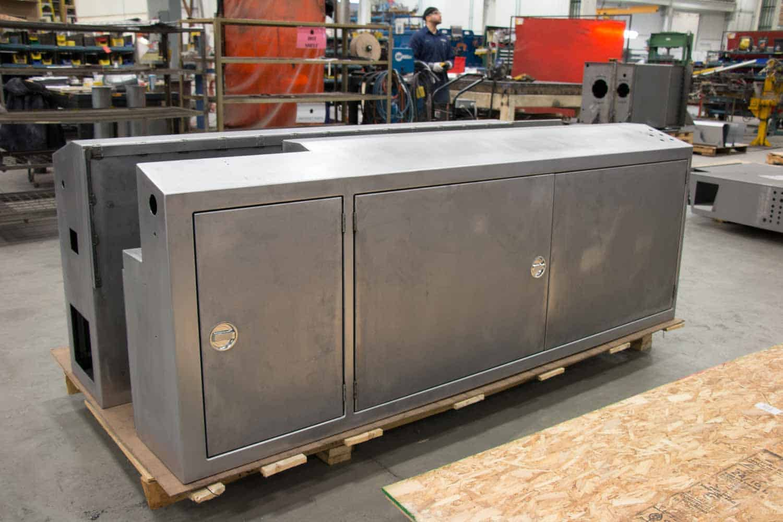 Badger Sheet Metal Works custom sheet metal enclosures