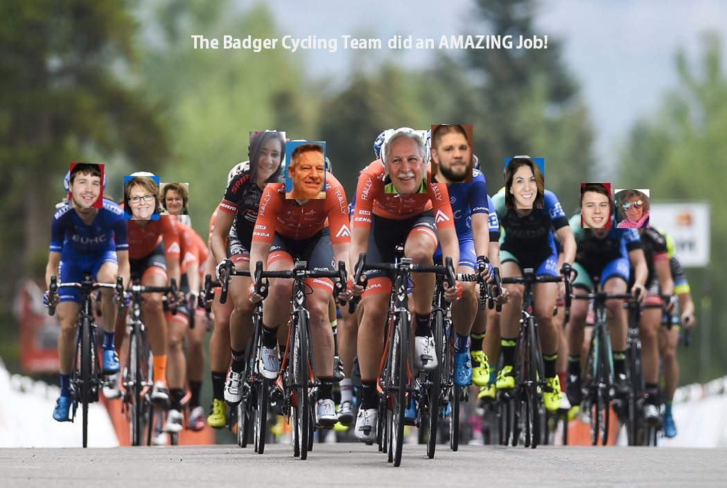 BSMW Spins 179 Miles to Support Big Brothers Big Sisters of Northeast Wisconsin